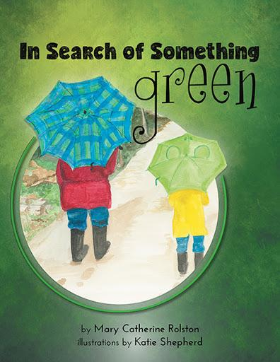 "The cover for the children's story ""In Search of Something Green"""